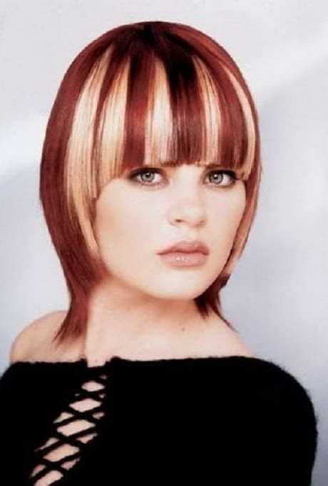 pictures of chunky hairstyles highlights and hairstyles