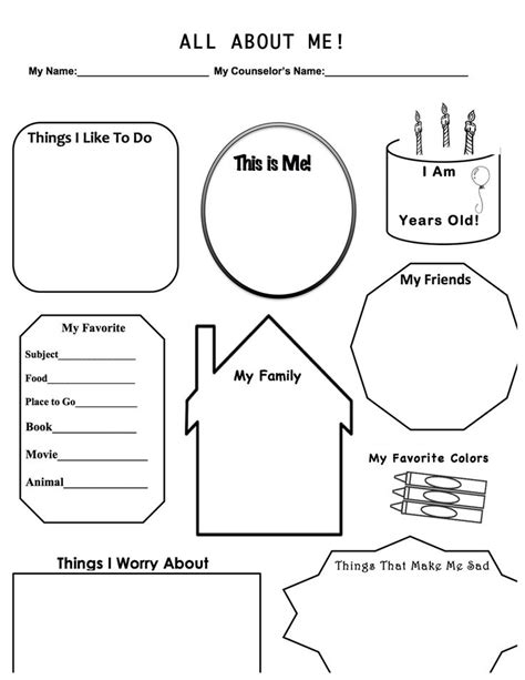 Counseling Worksheets