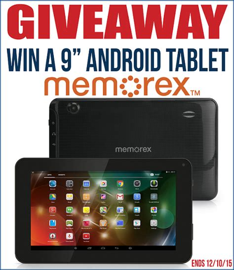 Android Giveaway - memorex android tablet raising whasians