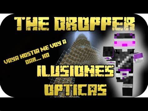 ilusiones opticas minecraft minecraft the dropper ep 2 ilusiones 211 pticas youtube