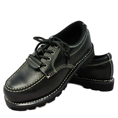river safety low boots black cavalier safety boots low black cow hide leather