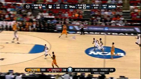 Mercer Mba Vs Umass Mba by Tennessee Basketball Highlights Ncaa Tournament Vs Umass