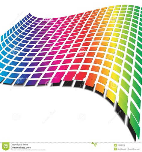 imagenes onda retro modelo de onda retro imagenes de archivo imagen 12890174