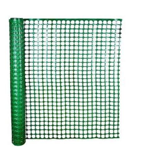 hdx  ft   ft green safety edge fence