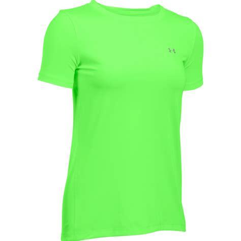 T Shirt Kaoskerens Armour Distro armour s heatgear armour sleeve t shirt lime light probikekit