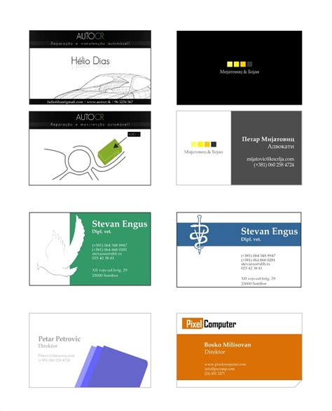 printable multi card business card template business cards logos choice image card design