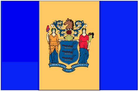 new jersey state colors new jersey s state flag is horrible let s make a better