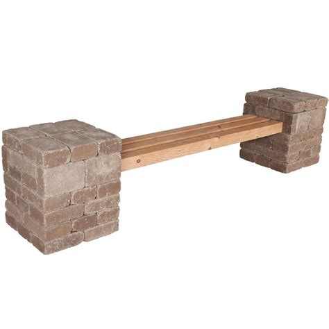 pavestone bench pavestone