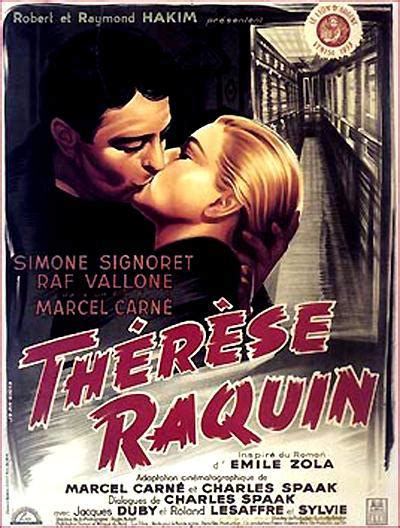 Theresa Emile Zola Original Hardcover teresa raquin 1953 filmaffinity