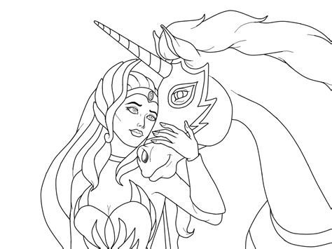 she ra coloring pages coloring home