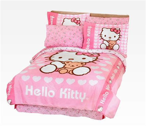 hello kitty bed sheets twin quilt sets