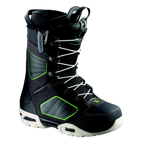 snowboarding boots mens salomon synapse wide mens snowboard boots black brown