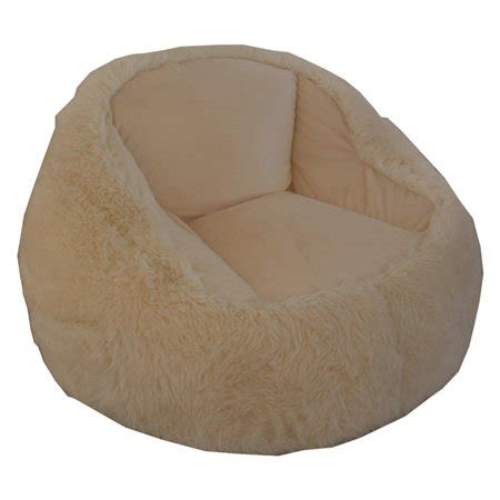 structured bean bag chair structured tablet fur bean bag chair available in
