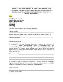 Letter Of Intent To Lease Premises Letter To Vacate Rental Property Sle Letters Botbuzz Co