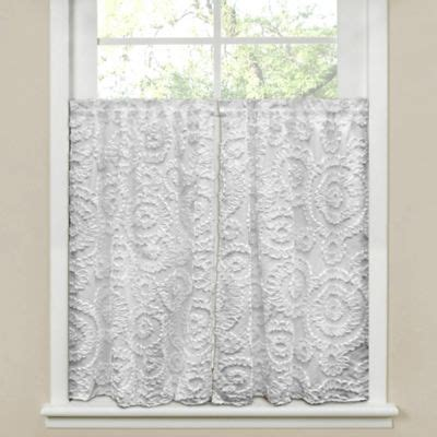 window curtains 45 inches long buy 45 inch curtains from bed bath beyond