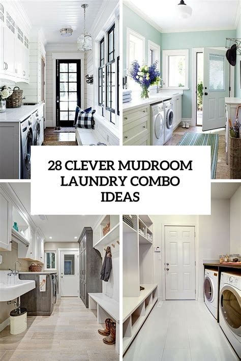Laundry Room And Mudroom Design Ideas by 28 Clever Mudroom Laundry Combo Ideas Shelterness