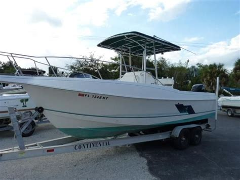 used center console boats naples fl used 1997 aquasport 245 osprey center console with trailer