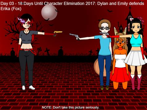 days until s day 2017 day 03 18 days until character elimination 2017 by