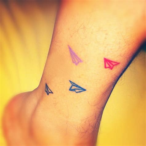 tattoo of paper plane 29 best inkt images on pinterest tattoo inspiration