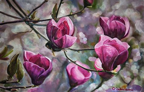 imagenes artisticas de flores im 225 genes arte pinturas ideas para pintar cuadros de