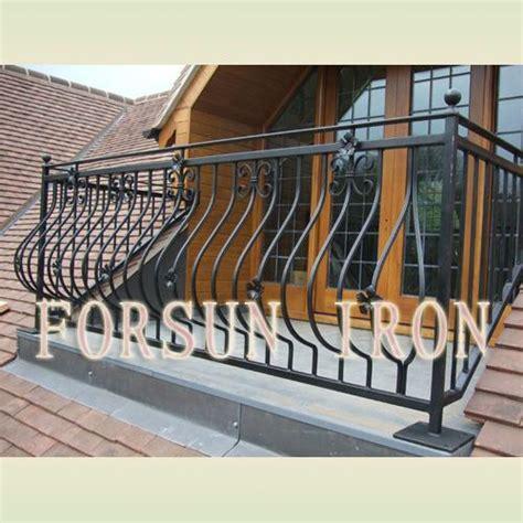 china simple wrought iron balcony railing china wrought