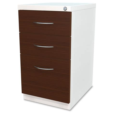 lorell file cabinet reviews lorell 3 drawer laminate wood mobile pedestal file cabinet