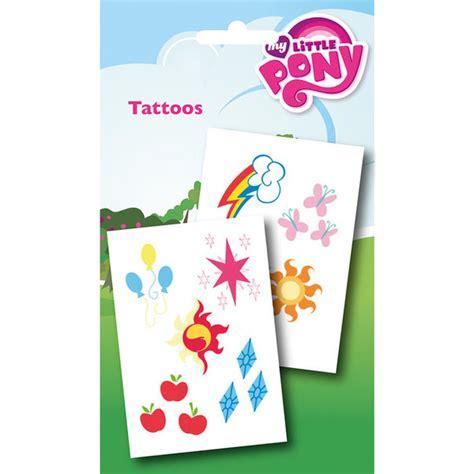 my little pony cutie mark tattoos my pony cutie pack my box
