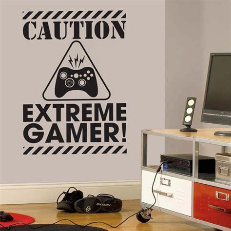 Gamer Wall Decal Sticker Video Gamer Birthday Gift Vinyl