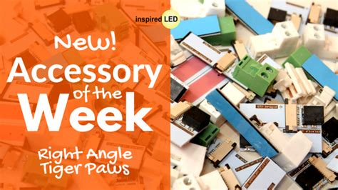 Accessory Of The Week accessory of the week new right angle tiger paws