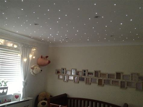 baby nursery ceiling lighting nursery fibre optic star twinkle lights remote control