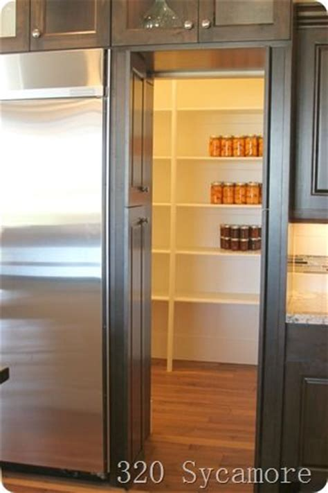 refrigerator that looks like a cabinet the door past the fridge looked like cabinets but it