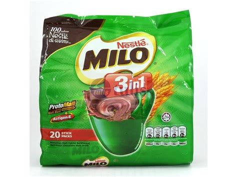 Milo Stick 3 In 1 Made In Malaysia 183 Pek milo chocolate 3 in1 pack 20 x 30gm largest office supplies store in malaysia