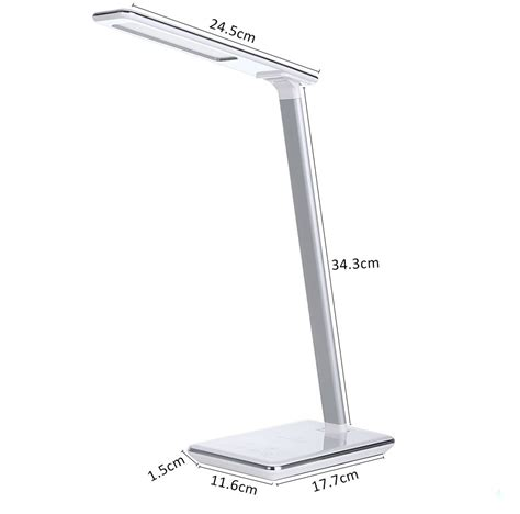 led l wireless charger led desk l wireless charging table l 4 light colors