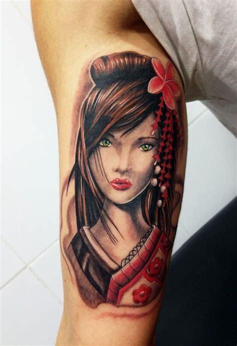 geisha tattoo que significa tatuajes de geishas