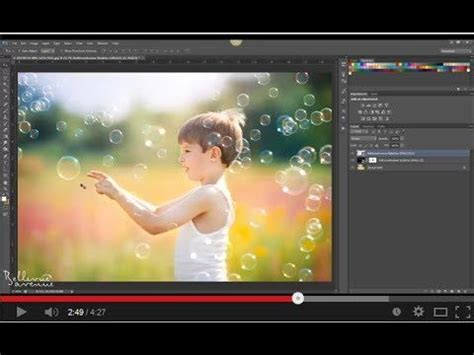 tutorial adobe photoshop elements 4 0 how to apply the dreamy bubble overlays from bellevue