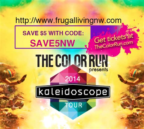 color run discount code the color run 5 discount code frugal living nw