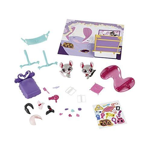 littlest pet shop bedroom littlest pet shop bedroom chinchilla playset cashmere biskit 3831 and velvet biskit 3830 buy