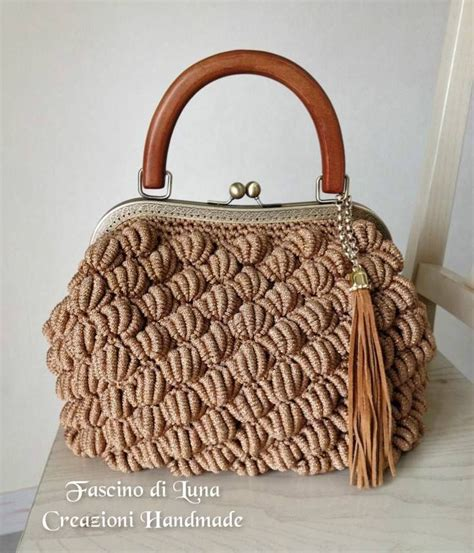 Crochet Handmade Bags - 17 best ideas about crochet handbags on