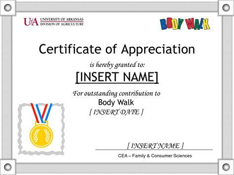 certificates of appreciation certificate of appreciation quotes quotesgram