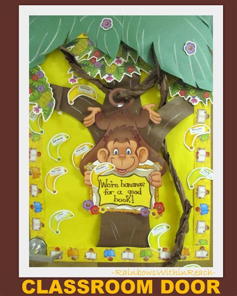 monkey themed classroom decorations www rainbowswithinreach