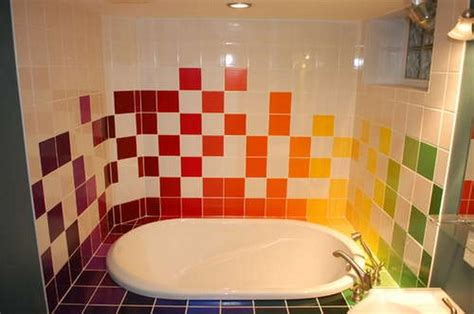 can ceramic tile be painted in a bathroom miscellaneous bath tile paint can you paint tile tile
