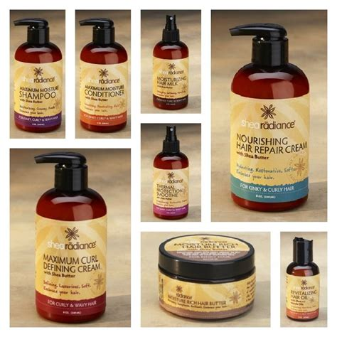 curl perm products for blacknwomen shea radiance for kinky curly wavy hair beauty hair