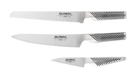 global kitchen knives global g937 3 piece kitchen knife set g 937
