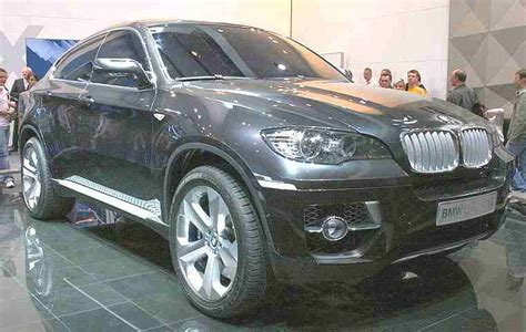 bmw x6 concept car bmw histroy and bmw classic cars pictures