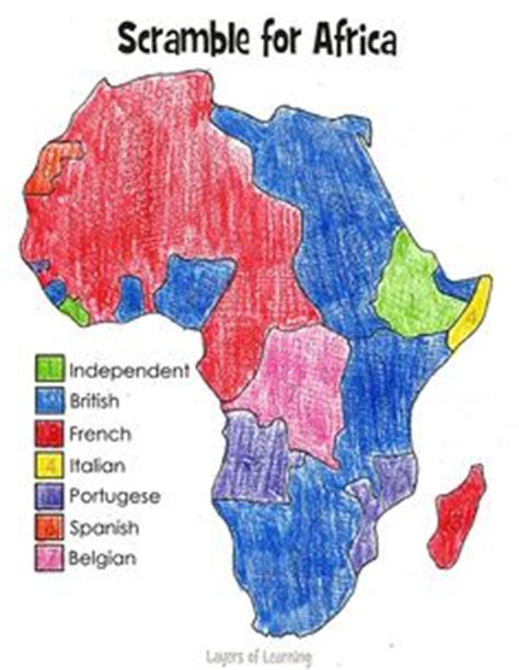 scrabble for africa scramble for africa blank map