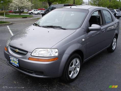 Gray Ls by 2006 Medium Gray Chevrolet Aveo Ls Sedan 9320035