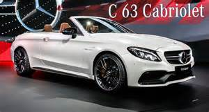 Mercedes C63 Convertible Mercedes Amg C63 Convertible Turbocharges Into Ny Offering