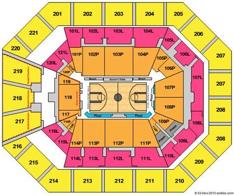 matthew arena seating rows matthew arena tickets seats
