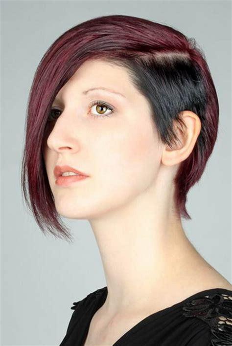 asymmetrischer haarschnitt