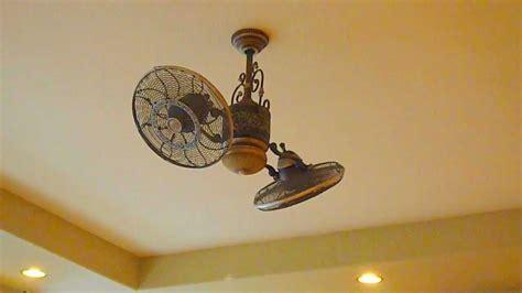 gyro twin ceiling fan minka aire f502 stw high performance twin turbo ceiling